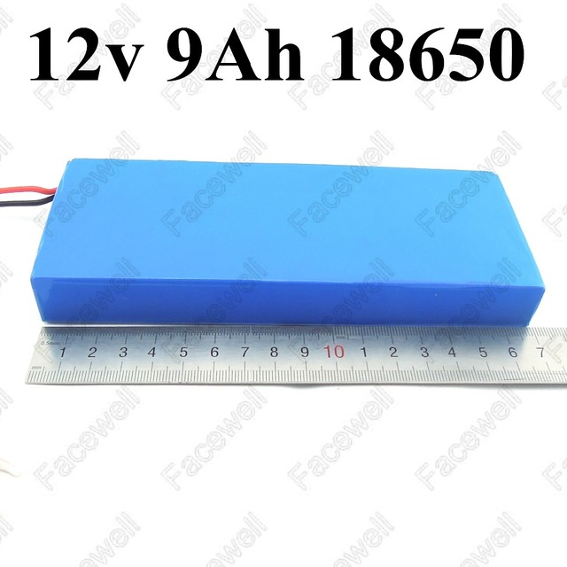 2pcs 12v 9ah Lithium Ion Battery Pack Li Ion Battery 12v