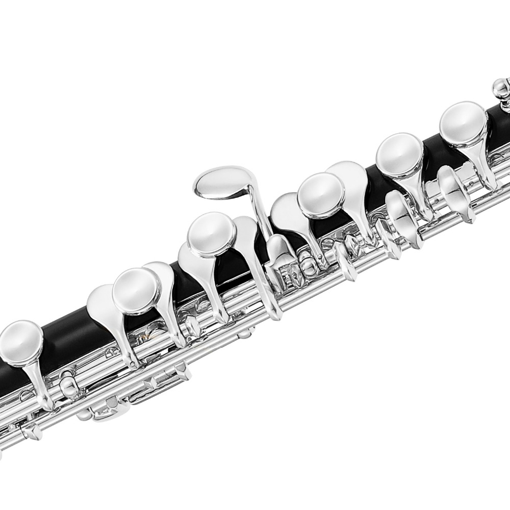 ABS Hard Case for C Foot Flute Black