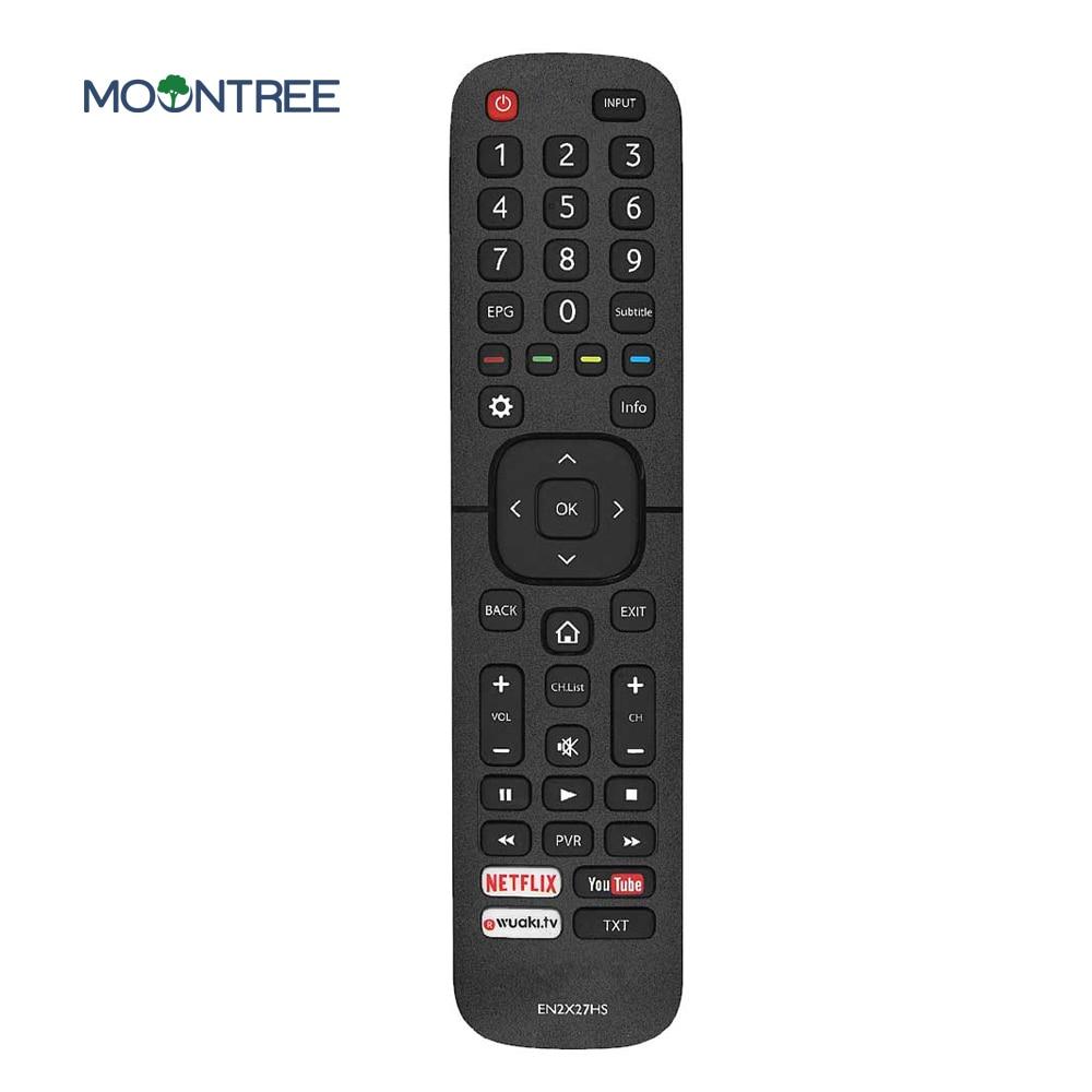 EN2X27HS сменный пульт дистанционного управления для Hisense smart tv с Netflix You трубкой 43K300UWTS0100 49K300UWTS 55NEC5200 65K5500UWTS - Цвет: Черный