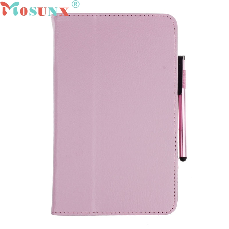 TOP QUALITY Leather Case Stand Cover For Samsung Galaxy Tab 3 7Inch P3200 T210 Tablet+Film Pen Reel MAR 25 luxury flip stand case for samsung galaxy tab 3 10 1 p5200 p5210 p5220 tablet 10 1 inch pu leather protective cover for tab3