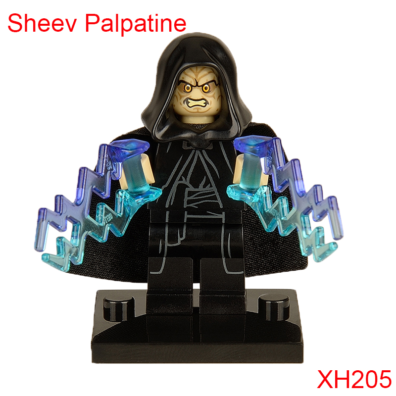 Emperor Sheev Palpatine Building Block 75093 Death Star Final Duel The Yoda Chronicles Single Sale Figures For Children Xh205