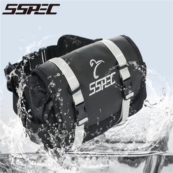 Bolsa impermeable multifuncional para motocicleta SSPEC 2017, mochila de cintura para montar en moto con bolsillos para monedas de teléfono móvil