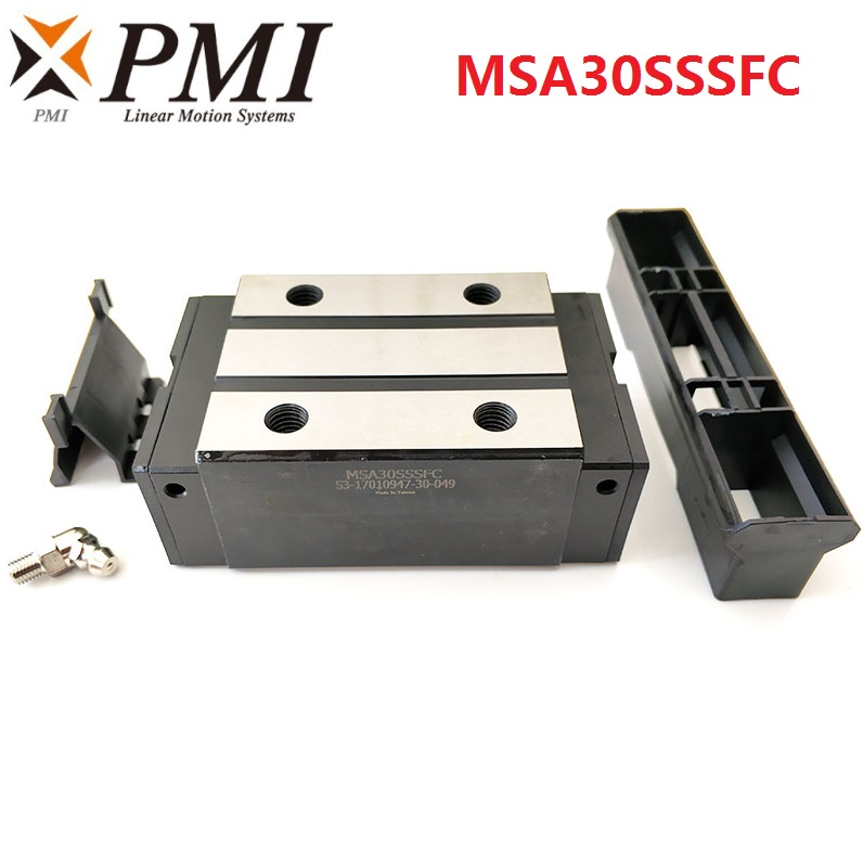 2pcs Original Taiwan PMI MSA30S MSA30SSSFC N linear guideway slide block Carriage for CO2 laser machine