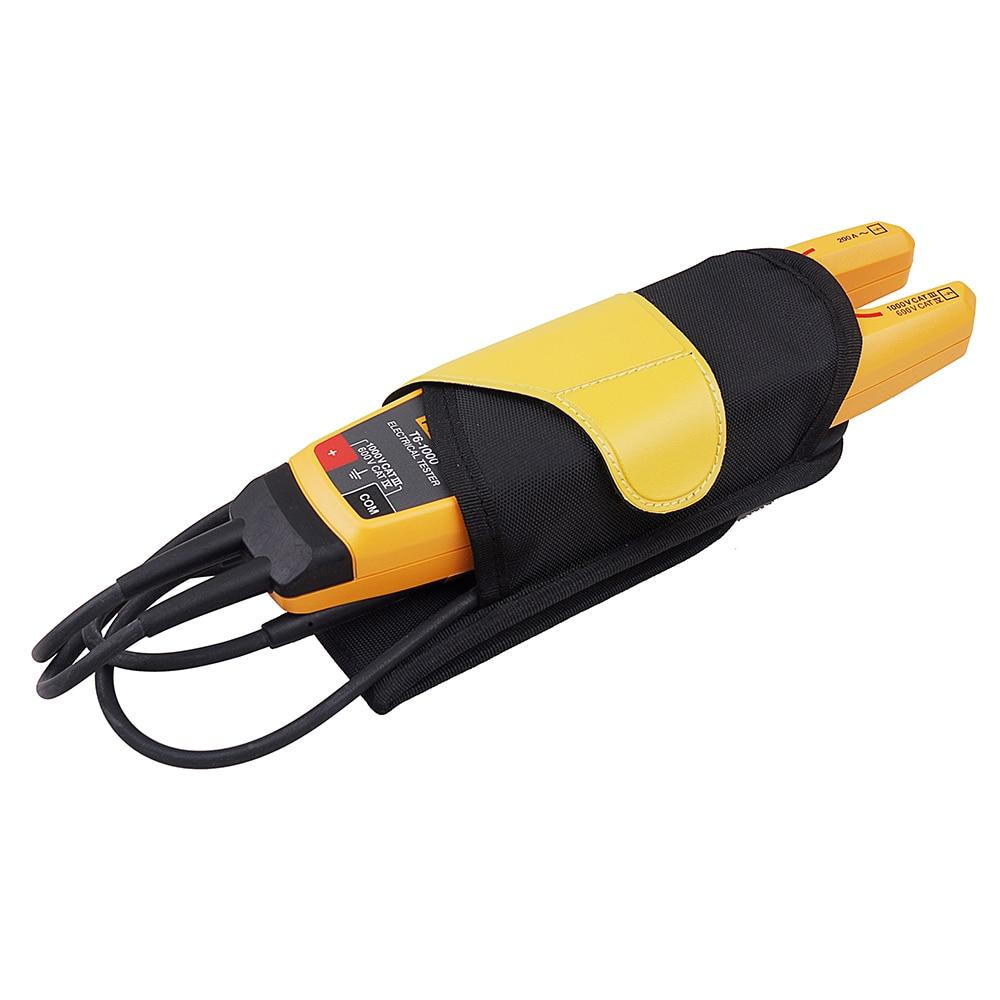 Fluke T6-1000 pince continuité courant testeur électrique pince MeterField Sense avec porte-ceinture étui