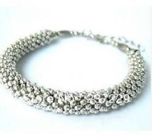 c498330433f Preço de atacado frete grátis 10 pcs         XSZ01420 China Tibet bela  pulseira jóias de prata artesanais