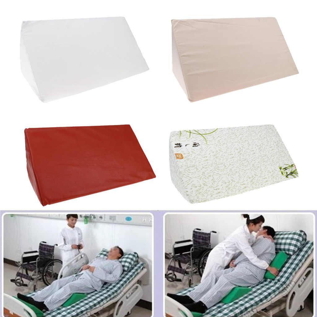 抗褥瘡泡ベッドウェッジ枕高度クッション腰椎サポート