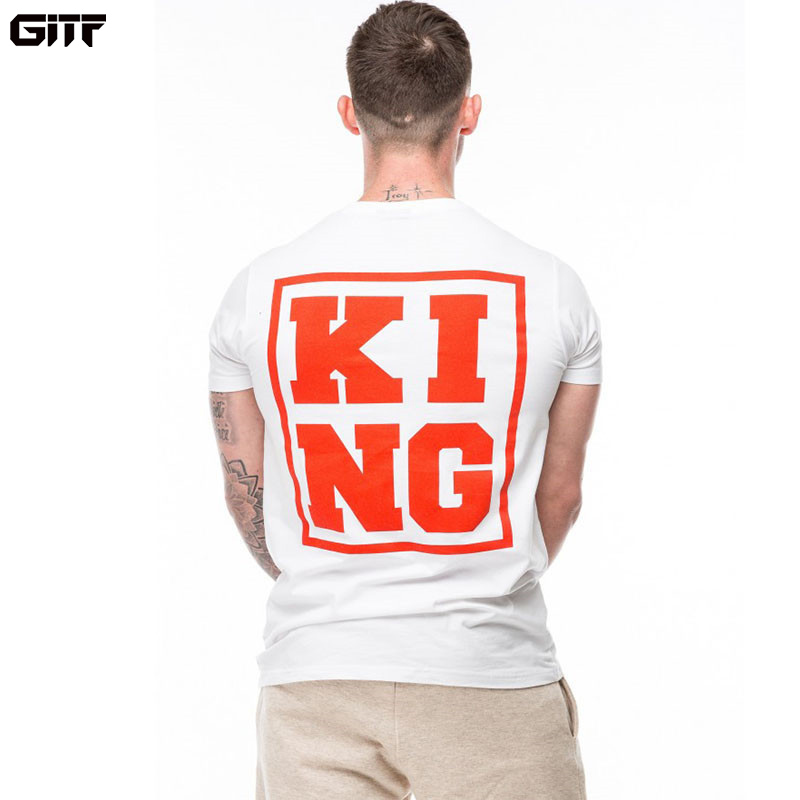 GITF 2019 Males out of doors Gymnasium Sport Working Cotton T-Shirt Health Coaching Bodybuilding Quick Sleeve Male Informal Tees Tops Clothes Working T-Shirts, Low-cost Working T-Shirts, GITF 2019 Males...