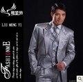 Casaco + calça + camisa + colete + gravata 5 conjuntos frete grátis alta qualidade 2016 chegam novas ternos para homens casamento pode ser personalizado