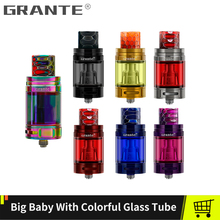 Grante TFV8 Big Baby Atomizer 510 Thread Tank With 810 Drip Tip Mouthpiece TFV8 Baby M2 Coil Glass Tube Vape Tank E Cigarette