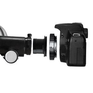 Image 4 - 1.25 inç montaj adaptörü seti teleskop mikroskop ters T halka profesyonel koruma kamera aksesuarları Lens Metal