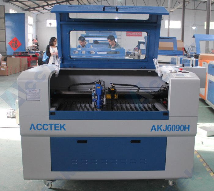 New Mini Laser Cutting Machine AKJ6090H