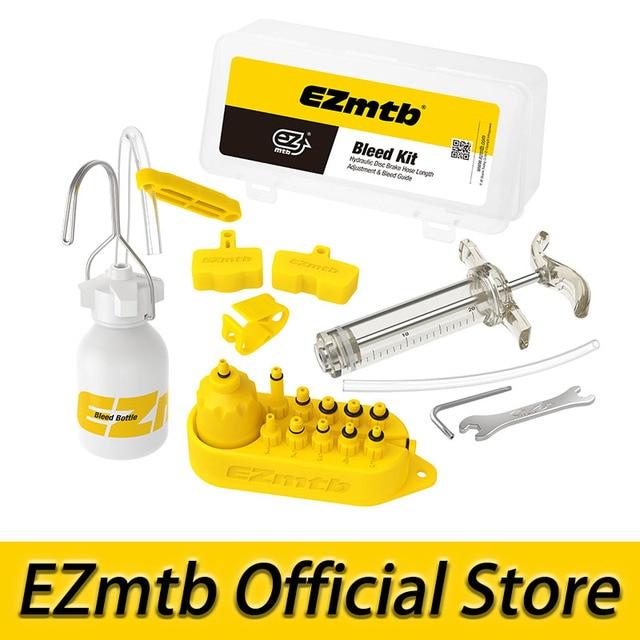 EZMTB bicicleta universal hidráulico Kit de sangrado Lite versión para shimano y tektro y magura y hayes y fórmula y sram y avid y freno gigante y nutt