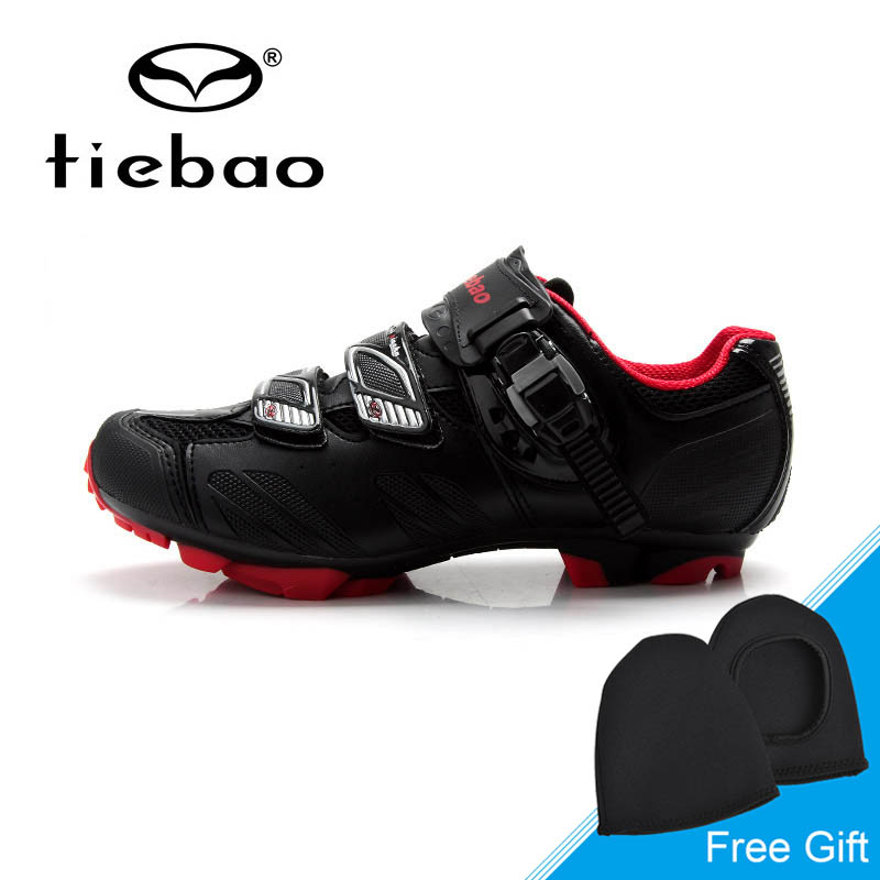 Tiebao Outdoor Pro Mountain Bike Shoes Men Breathable Cycling Shoes Self Lock Bicycle Shoes MTB Non-slip Zapatos de ciclismo racmmer cycling gloves guantes ciclismo non slip breathable mens
