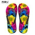 Diseño de marca flores Beach zapatillas para las niñas nueva moda de tacón plano Zapatos de verano Mujer mbt Zapatos Mujer alta calidad chanclas