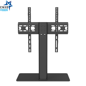 """Image 1 - Universal TV Table Monitor Base Stand Stable and Safety TV Floor Stand for Plasma LED LCD TV 32"""" to 55"""" up to 88lbs"""
