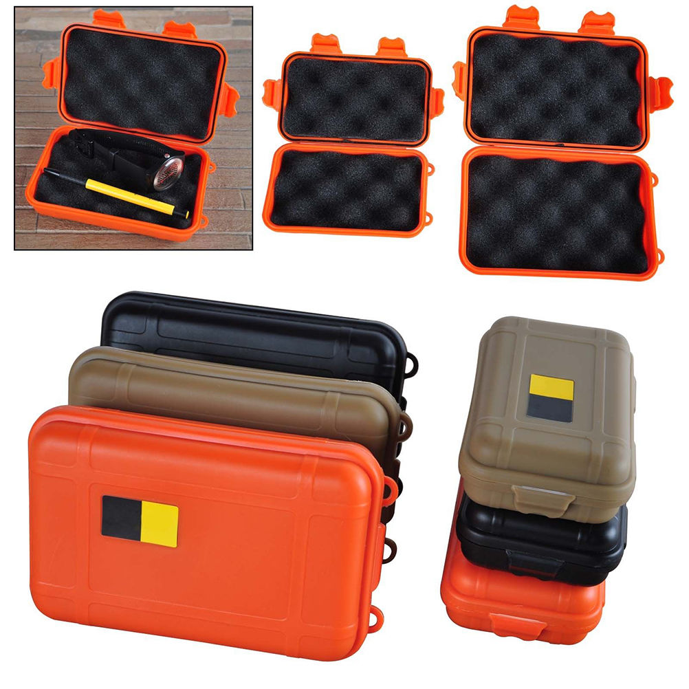 ABS Shockproof Airtight Survival Storage Case Container WaterProof Portable Box