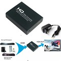 1080P HD Video Converter MHL/HDMI to VGA Scaler HDMI to analog PC RGB Converter Box Adapter