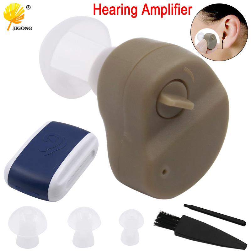 Adjustable Mini Ultra Small Invisible Sound Amplifier Hearing Aid In Ear Sound Enhancement Deaf Aid For Ear