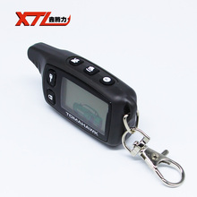 Recién TW9010 remoto de coches para Tomahawk TW9010 remoto Lcd sistema de alarma de dos vías del coche envío gratis