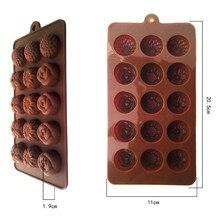 Уникальные Силиконовые формы для шоколада в форме цветов, льда, кекса, леденца и сахара
