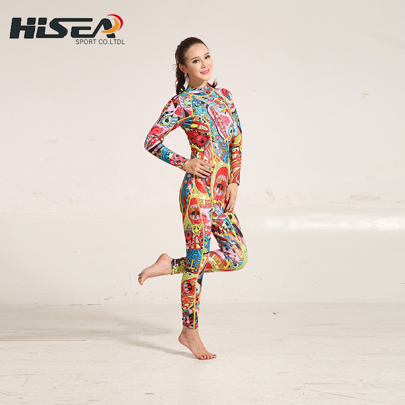 2017 Hisea 3mm Neoprene Wetsuit Women Swimsuit Equipent For Diving Scuba Swimming Surfing Spearfishing Triathlon Wetsuits h2