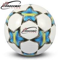 CROSSWAY New Premier PVC Soccer Ball Official Size 5 Football Goal League Ball Outdoor Sport Training