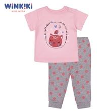 Пижама ясельная (футболка, брюки)