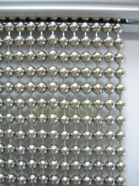 6MM Stainless Steel Color Metal Ball Chain Curtain In Curtains From Home Garden On Aliexpress