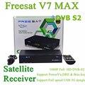 Freesat V7 MAX Ayuda 1080 P Full HD DVB-S2 Receptor de Satélite, TV vía satélite Receptor Viene Con USB WIFI
