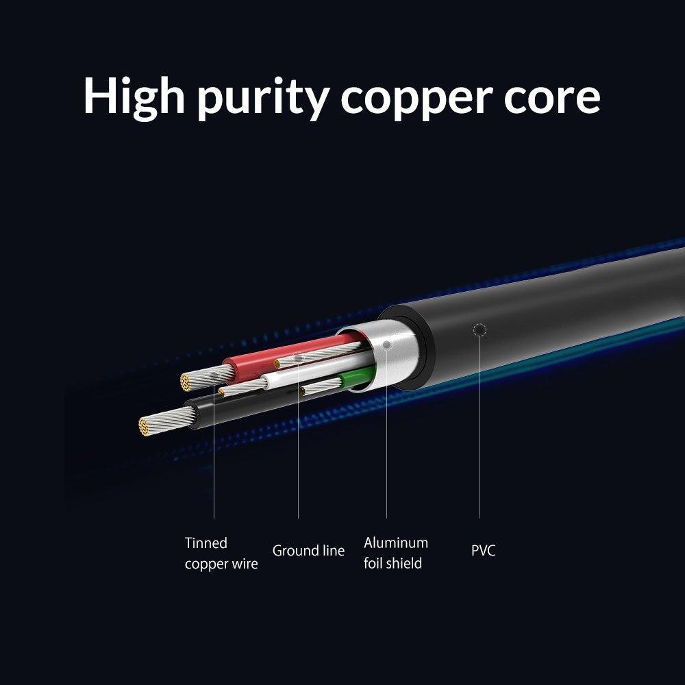 ORICO Micro USB-kabel Snabbladdning Android USB Data Sync Laddarkabel - Reservdelar och tillbehör för mobiltelefoner - Foto 6