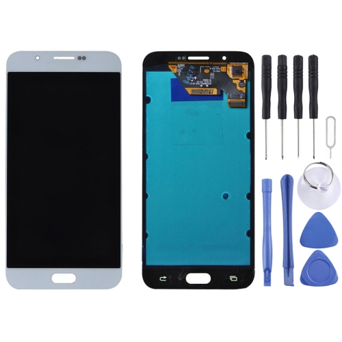 Original LCD Display + Touch Panel for Galaxy A8 / A8000(White)