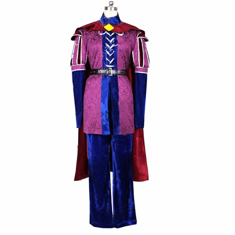 2017 Custom-made High quality Sleeping Beauty Costume Prince Phillip Cosplay Costume