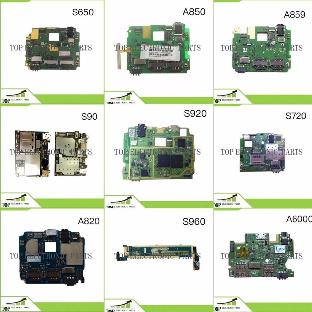 imágenes para Nueva Original Para Lenovo P780 S650 S720 S920 A850 A859 S90 S960 A606 S860 Placa Base placa Principal 4 GB Rom sin botón de volumen