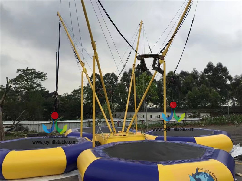 2018 Hot Sale Adult Inflatable Europe Trampoline with Power-driven Machine For Amusement Park,Inflatable Children Playground