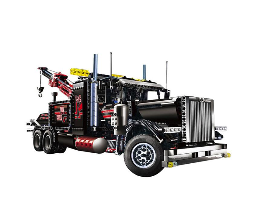 20020 Technic Mechanical Ultimate Series The American Style Heavy Container Trucks Set 8285 Building Blcoks Bricks Toys-in Blocks from Toys & Hobbies    1