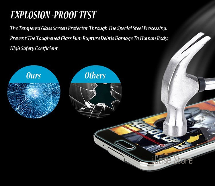 9H Premium Tempered Glass Screen Protector For Samsung Galaxy S5 Neo S6 J2 Prime J3 J5 J7 A3 A5 2016 2015 Grand Prime G531 G530