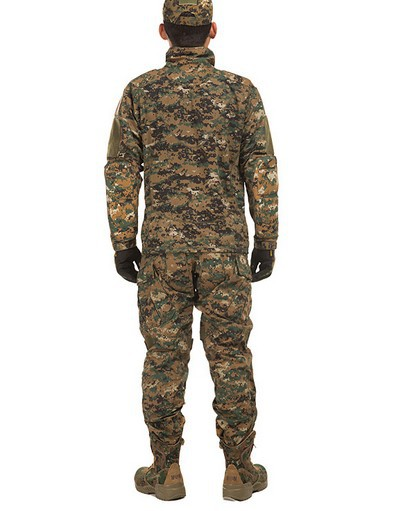Genuine urban camouflage training uniform digital camouflage CP suit pilots parachuted outdoor summer training suit сумка fiorelli fh8669 black mix