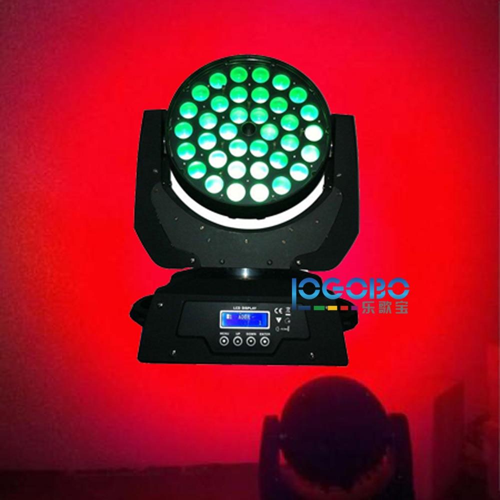 La meilleure tête mobile d'étape allume la lumière stroboscopique de lavage de zoom de 10Wx36 RGBWA 5in1 LED pour la discothèque DJ de discothèque de partie de DJ, bateau libre