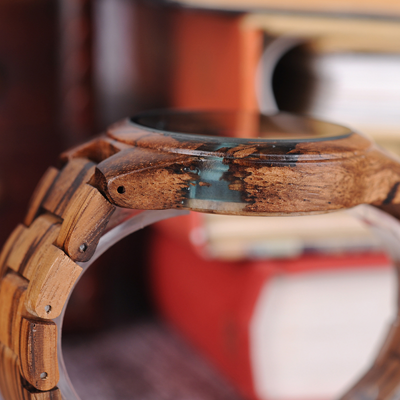 BOBO BIRD ხის საათები უნიკალური - მამაკაცის საათები - ფოტო 4
