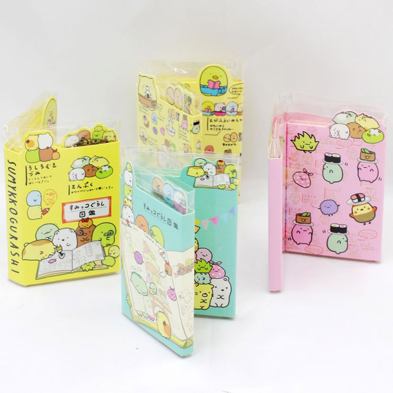 78Sheets  Cute Sticky Notes Pads Kawaii Cartoon Writing Sticky NotesFor Kids Gifts Back To School Office Supplies Stationery