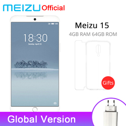 Official Original Meizu 15 4GB 64GB Global Version Cellphone Snapdragon 660 Octa Core 5.46