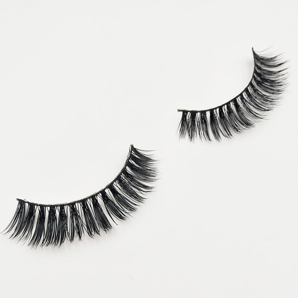 XME015 natural long lashes  (3)