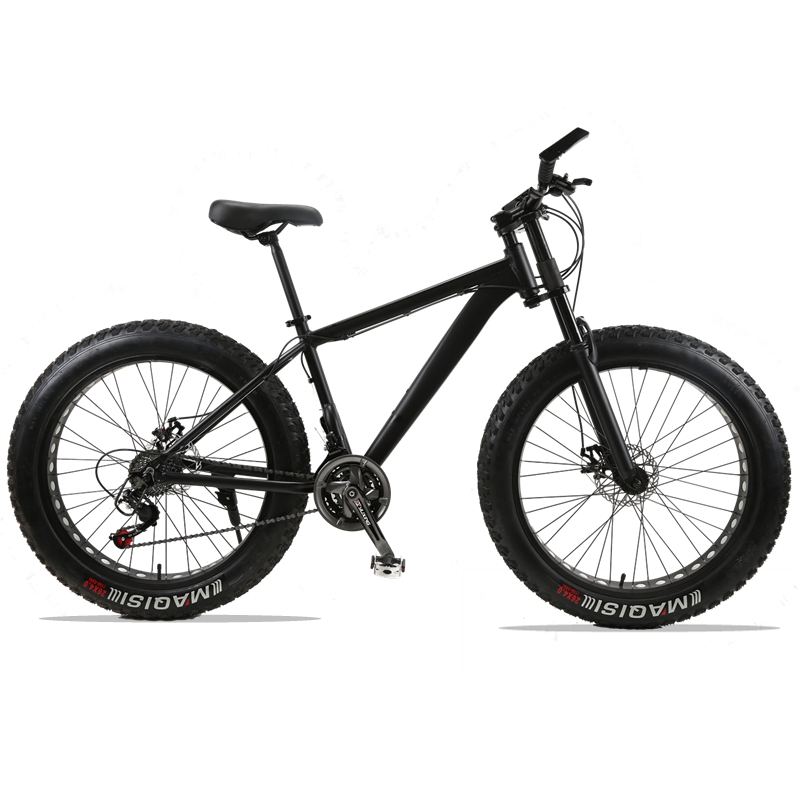 Mountain Bike bicycle 24speed Aluminum alloy frame 26x4.0 fat bike bicycle Snow bike Front and Rear Mechanical Disc Brade Male bicycle mountain bike 7 21 speed 26x 4 0 fat bike road bike front and rear mechanical disc brake spring fork alloy wheels bike