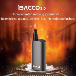 Image 2 - 2019 最新のオリジナル IBACCO 2.0 タバコ熱なしバーン気化器 2600mah 蒸気を吸うキット電子タバコ味