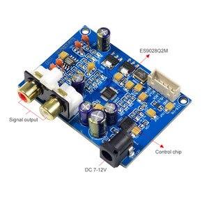 Image 3 - Плата декодера AIYIMA ES9028Q2M ES9028 I2S, входная Плата декодера DAC DC 9 12 В, обновленная плата ES9018 для усилителя DIY