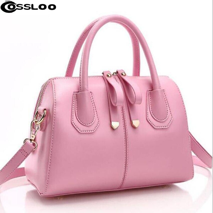 цены COSSLOO Handbag women's bags 2018 autumn and winter smiley bag cross-body handbag shoulder bag messenger bag bucket handbag