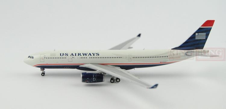 GJUSA1125 GeminiJets all American Airlines 1:400 A330-200 commercial jetliners plane model hobby