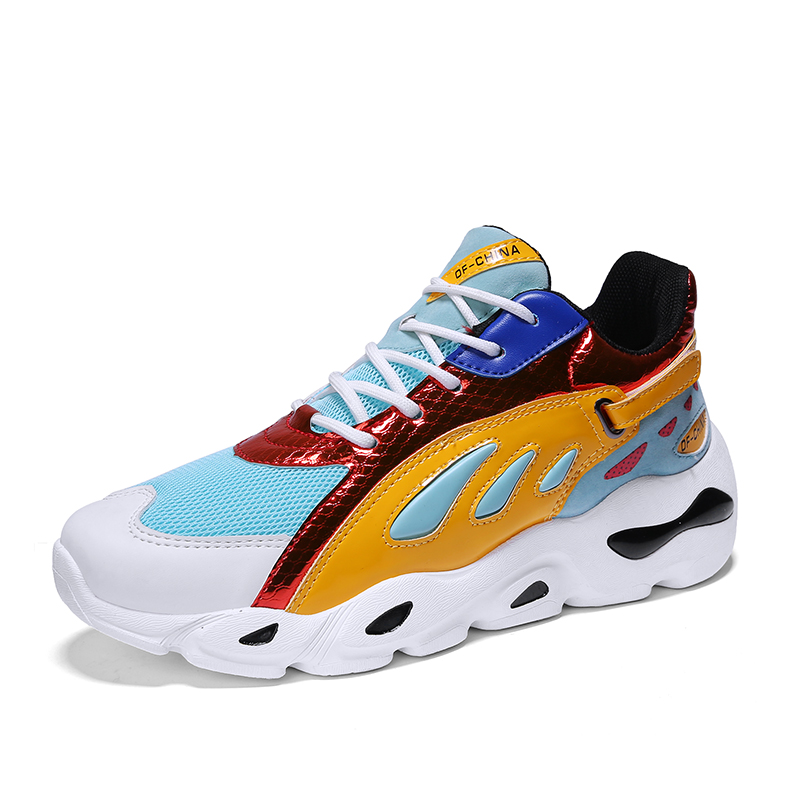 Men s Sport Running Shoes 2018 Spring Autumn Hot Selling Fashion Upn Non-slip  Sport Shoes b4dd40a585eb