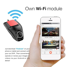 new Small Eye Dash Cam Car DVR Recorder Camera with Wifi Full HD 1080p Wide Angle Lens G Sensor Night Vision Dash Cam