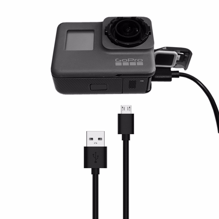 1m USB PC Data Sync Charging Lead Cable For GoPro Hero 7 6 5 Sport Action Camera Go Pro Accessories # F3136
